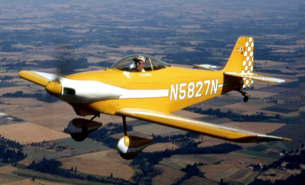RV-1 in flight